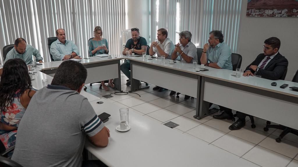 CDL-GV na reunião com órgãos e entidades