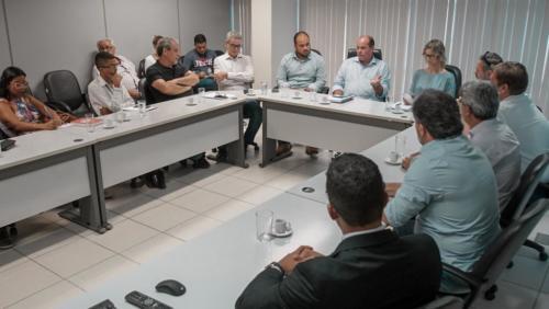 CDL-GV na reunião com órgãos públicos e entidades